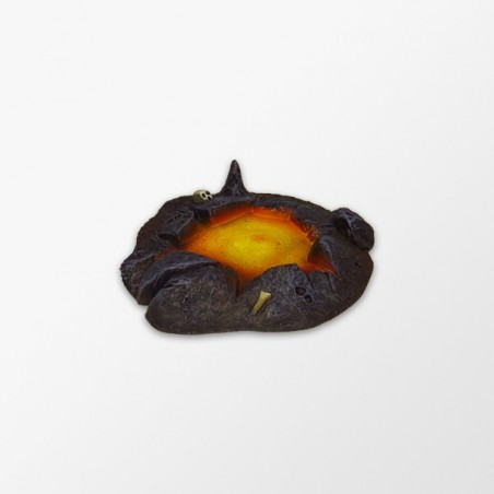 Small  puddle of lava