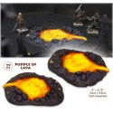 Puddle of lava