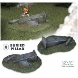 Buried pillar