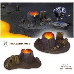 Volcanic pipe