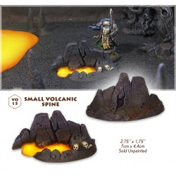 Small volcanic spine